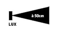 Distance éclairage 5000