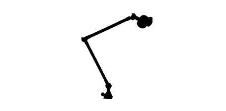 LAMPES / ECLAIRAGES   Bras articulés