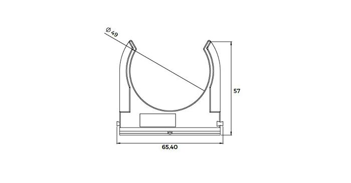 5193601-1 - Colliers de fixation